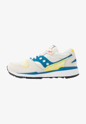 AZURA - Trainers - white/blue/yellow