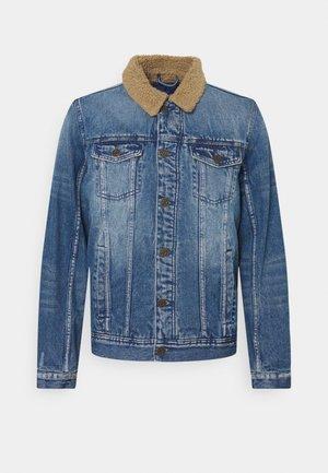 JACKET - Denim jacket - denim middle blue