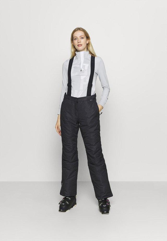 FIDELITY - Pantalon de ski - black