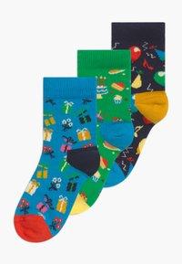 Happy Socks - KIDS BIRTHDAY GIFT 3 PACK - Socks - multi-coloured - 0