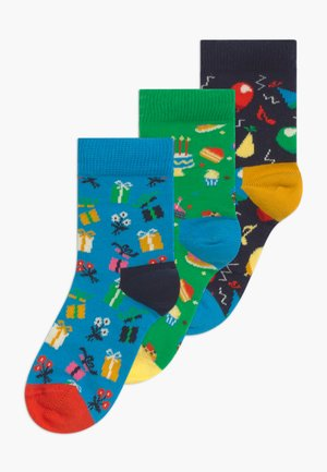 KIDS BIRTHDAY GIFT 3 PACK - Socks - multi-coloured