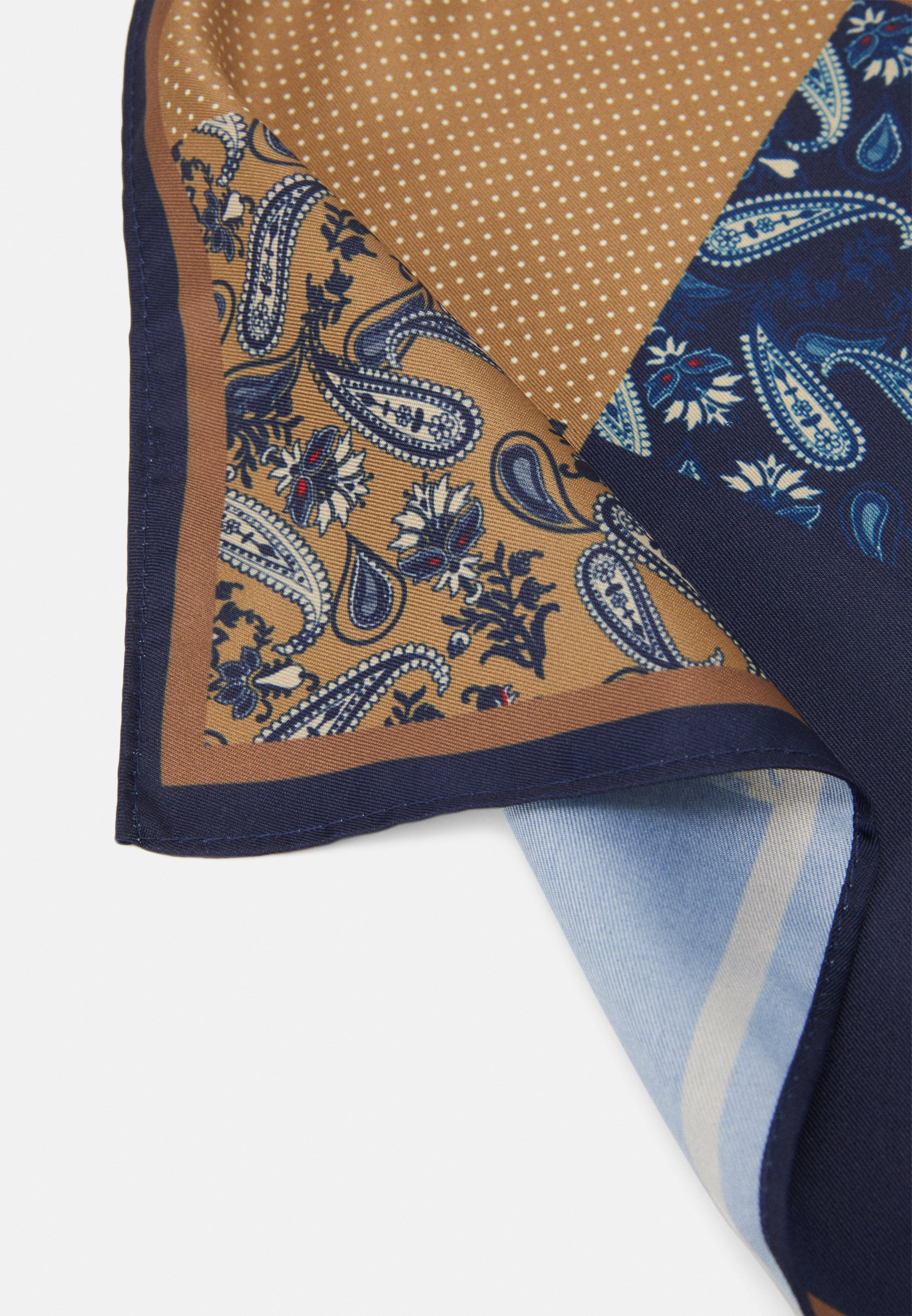 Burton Menswear London Trim Way Pocket Square - Einstecktuch Navy/dunkelblau