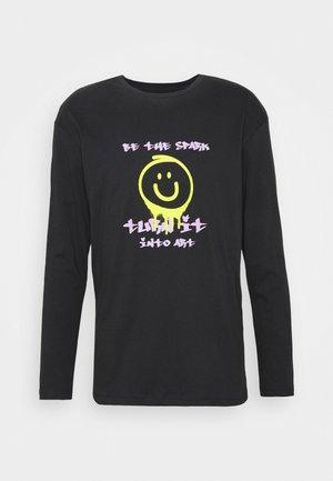 JORMORNING TEE LS CREW NECK - T-shirt à manches longues - black