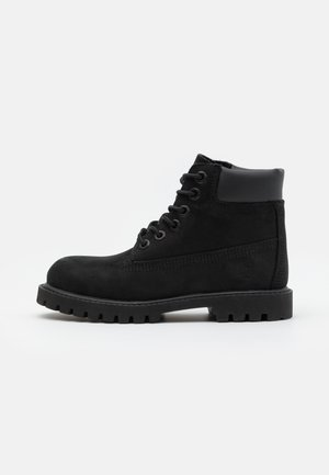 PREMIUM UNISEX - Bottines à lacets - black