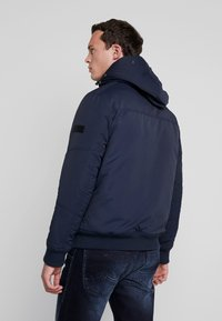 TOM TAILOR DENIM - TRIMMED BOMBER - Winter jacket - sky captain blue - 3