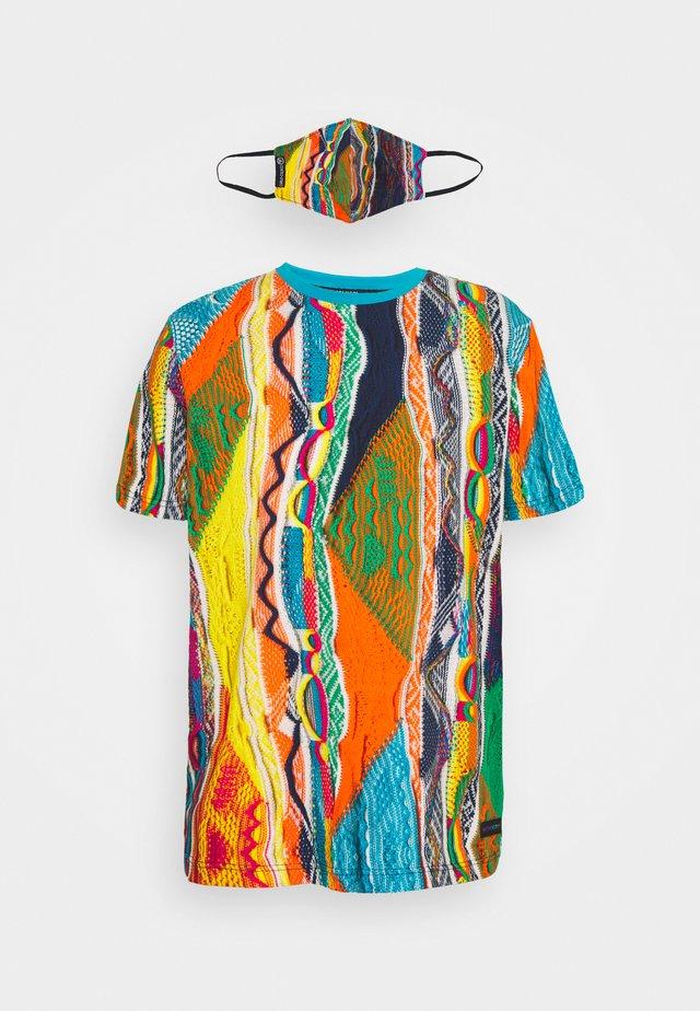MULTIPACK SET - T-shirt print - white