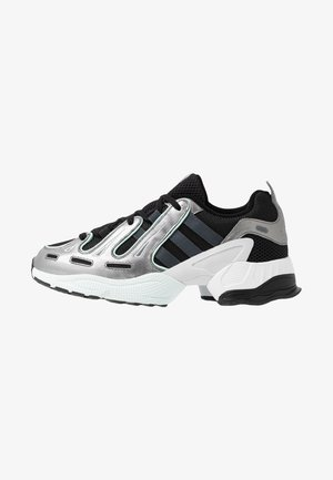 EQT GAZELLE - Matalavartiset tennarit - core black/metal/ice mint