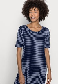 Esprit - WAFFLE DRES - Jersey dress - dark blue - 3