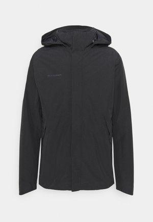 TROVAT HOODED JACKET  - Hardshell jacket - black