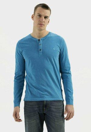 Long sleeved top - ocean blue