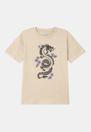 RIO - T-Shirt print - beige