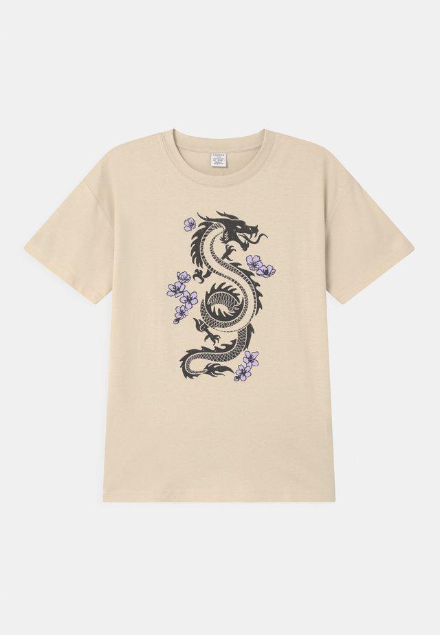 RIO - T-shirts print - beige