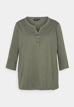XCILLE BLOUSE - Maglietta a manica lunga - agave green