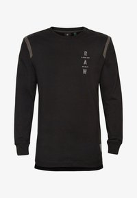 G-Star - TAPE LOGO LASH - Long sleeved top - dk black - 0