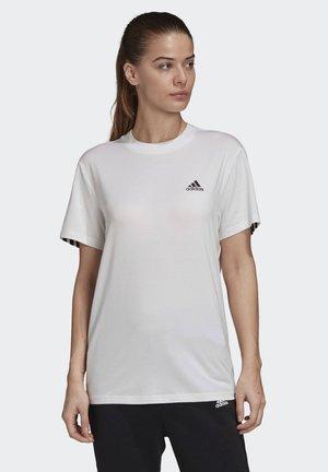 MUST HAVES 3-STRIPES T-SHIRT - T-Shirt print - white