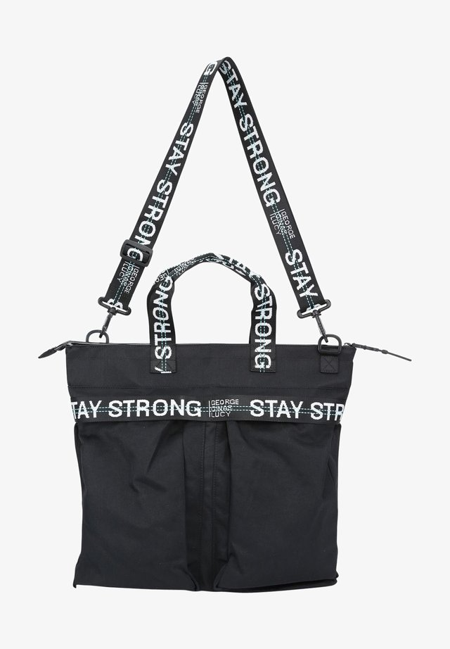 NYLON ROOTS JOHNNY TUSH - Handbag - black strong