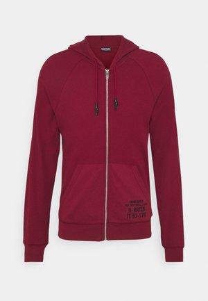 BRIANZ - Zip-up sweatshirt - cordovan