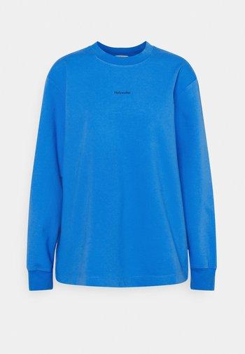 LURING PRINT - Top sdlouhým rukávem - blue