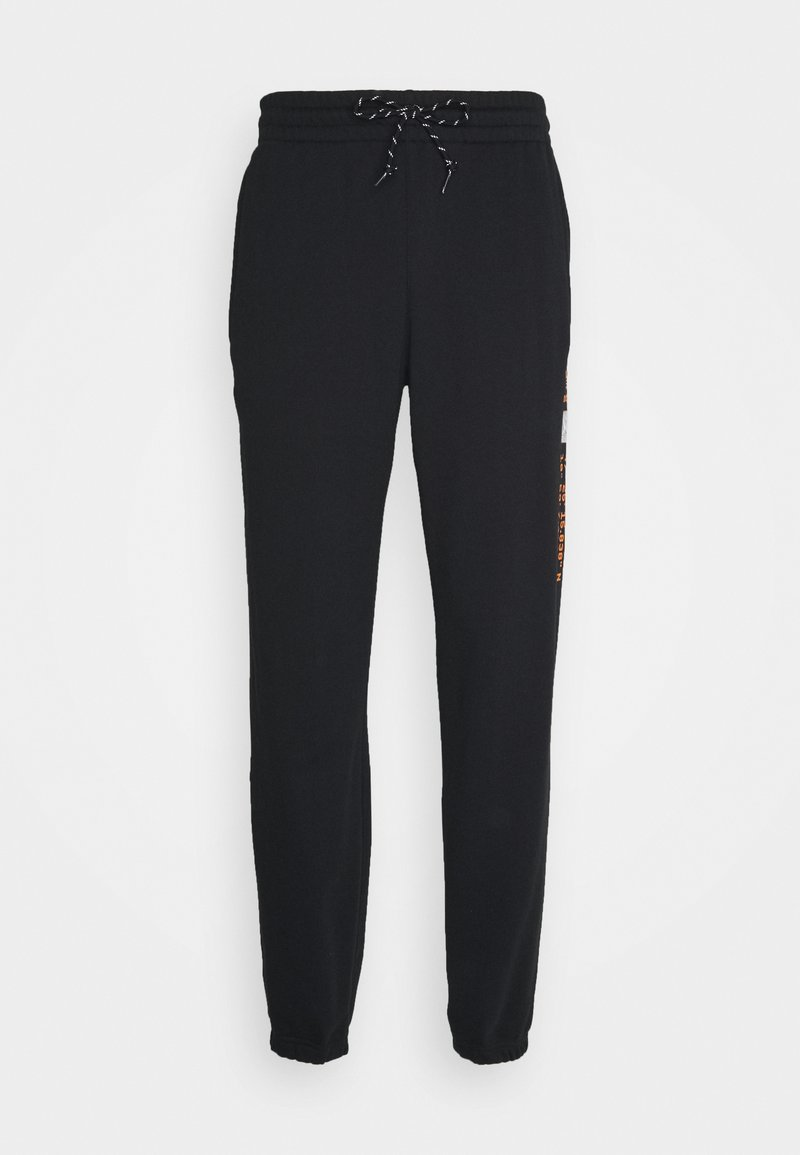 adidas Originals LOGO - Jogginghose - black/schwarz tt1hb5