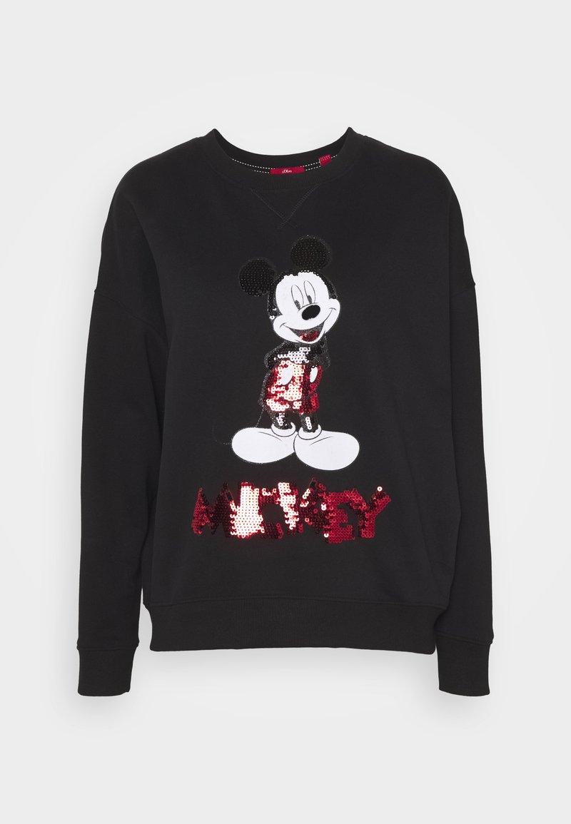 s.Oliver - Sweatshirt - black plac