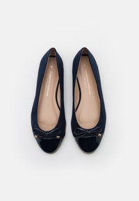 Dorothy Perkins Wide Fit - WIDE FIT PINE RAND TOE CAP - Bailarinas - navy - 5