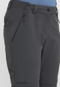 Schöffel - ASCONA ZIP OFF - Outdoor trousers - asphalt - 3