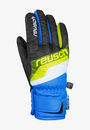 DARIO R-TEX® XT  - Gloves - black / brilliant blue