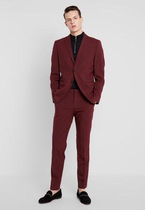 SLHSLIM MYLOLOGAN SUIT - Suit - burgundy