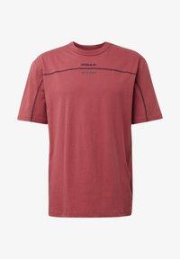 UNISEX - Print T-shirt - red