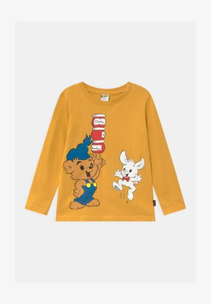MINI BAMSE PLACED PRINT - Longsleeve - yellow
