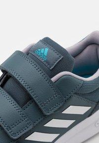 adidas Performance - TENSAUR UNISEX - Chaussures d'entraînement et de fitness - legacy blue/footwear white/glory grey - 5