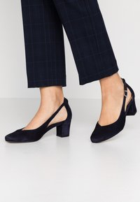 PERLATO - Classic heels - river - 0