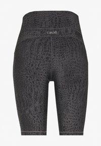 Casall - BIKER - Tights - grey croco - 1