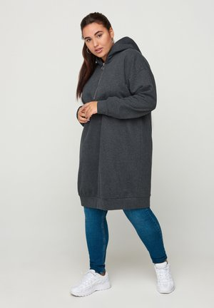 Jersey dress - dark grey