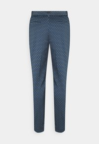 More & More - PRINTED HEDY - Chino - dusty blue - 1