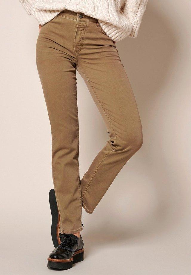 AUDREY - Jeans slim fit - mud