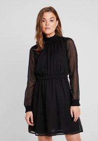Pieces - PCAMALIE DRESS - Sukienka letnia - black - 0