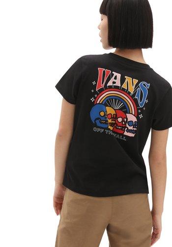 SKELEBOW - Print T-shirt - black