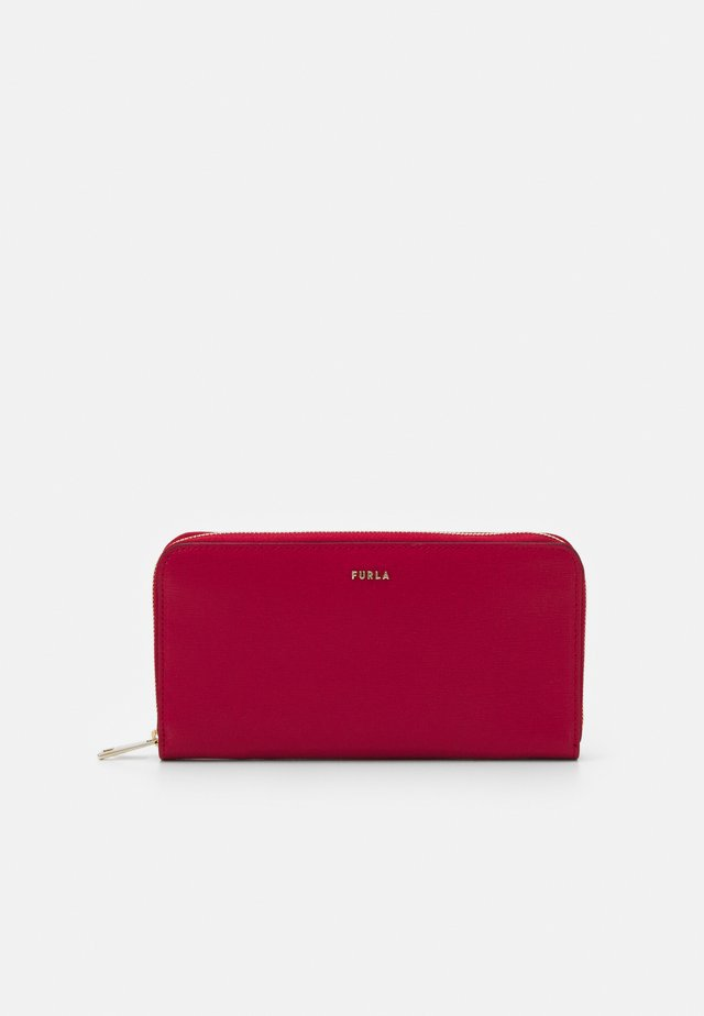 BABYLON ZIP AROUND - Wallet - ruby
