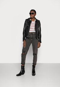 Gipsy - FAMOS - Leather jacket - black - 1