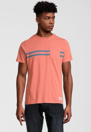 AWE - T-shirt print - terracotta