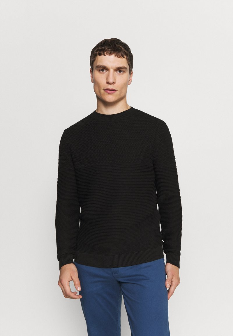 Selected Homme - SLHCONRAD  - Jumper - black