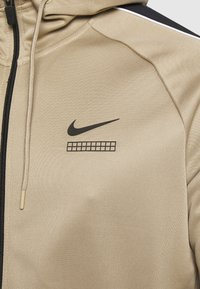 Nike Sportswear - HOODIE - Training jacket - khaki/black/white - 6