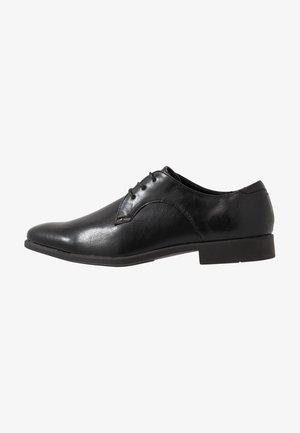 SOURCE FORMAL DERBY - Stringate eleganti - black