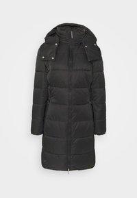 FLEURIS - Zimní kabát - black