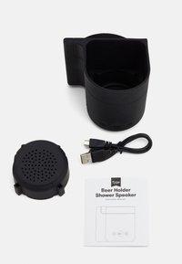 TYPO - BEER HOLDER SHOWER SPEAKER - Speaker - black - 3