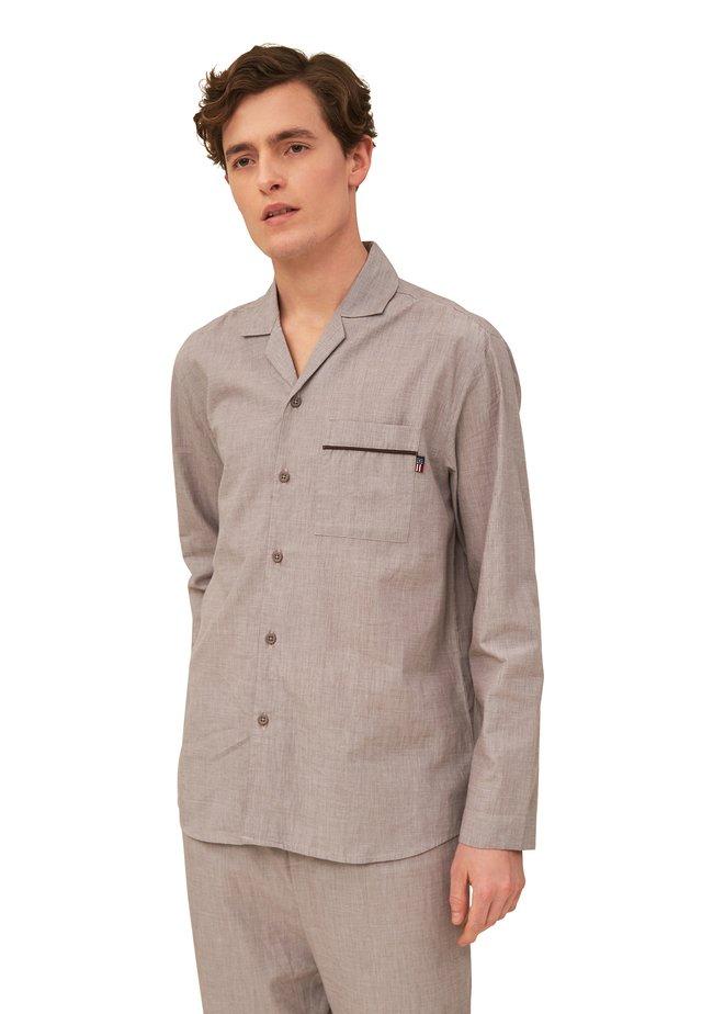 Pyjama - brown/white