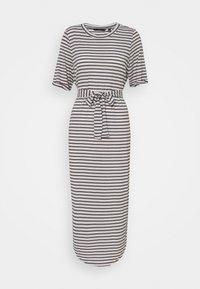 Vero Moda Tall - VMALONA CALF DRESS - Jersey dress - navy blazer/white - 0