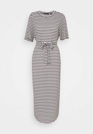 VMALONA CALF DRESS - Jersey dress - navy blazer/white