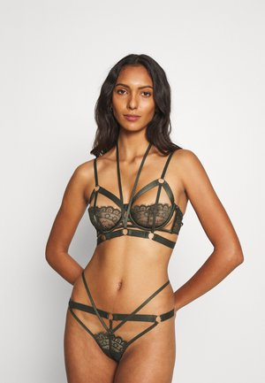 JACKY UP - Underwired bra - green